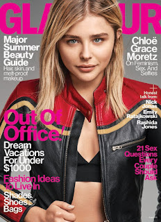 Chloe Grace Moretz does a biker inspired photo spread for Glamour Magazine. See photo spread at JasonSantoro.com