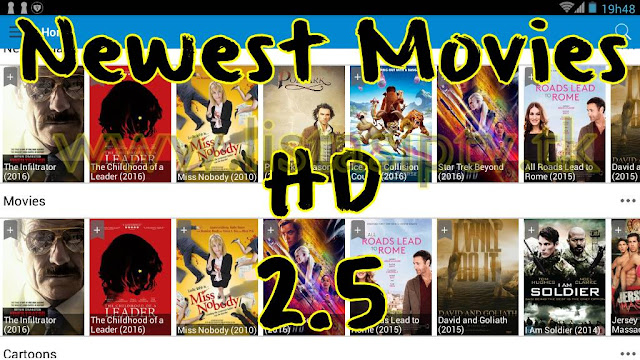 Newest Movies HD v2.5 - Apk (Ad Free) - Aplicativo para assistir Filmes e Séries no Android