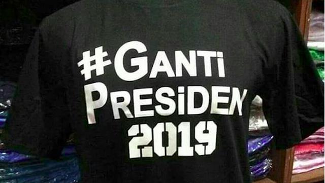Beredar Kaos #2019GantiPresiden, Golkar: Upaya Jatuhkan Jokowi