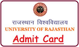 Uniraj Admit Card 2019