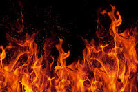 Fire as a  symbol of the trials and tribulations in life