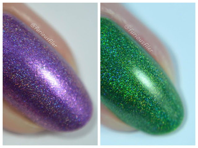 celestial dream unicorn fields swatch celestial cosmetics review