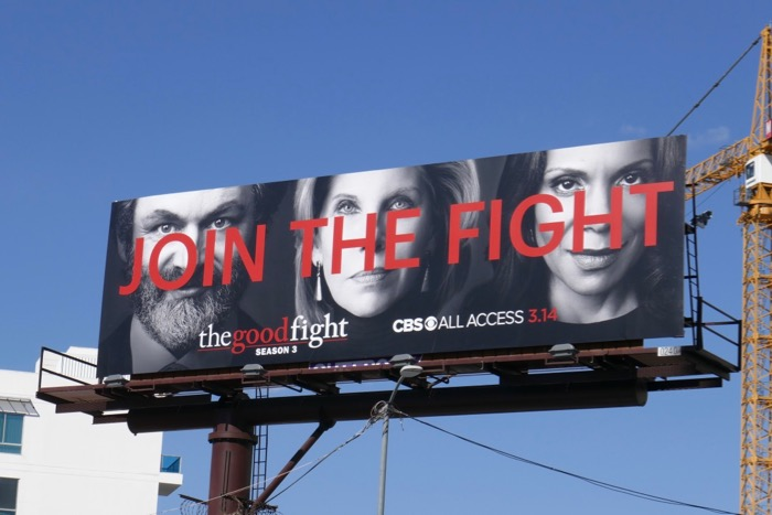 Join Good Fight season 3 billboard