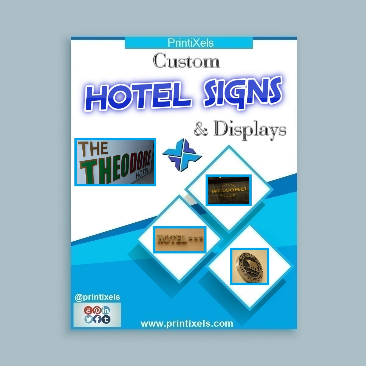 Custom Hotel Signs & Displays