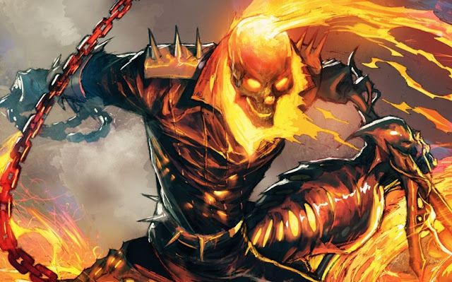 Asal-Usul dan Kekuatan Ghost Rider (Johnny Blaze), Spirit of Vengeance dari Marvel Comics