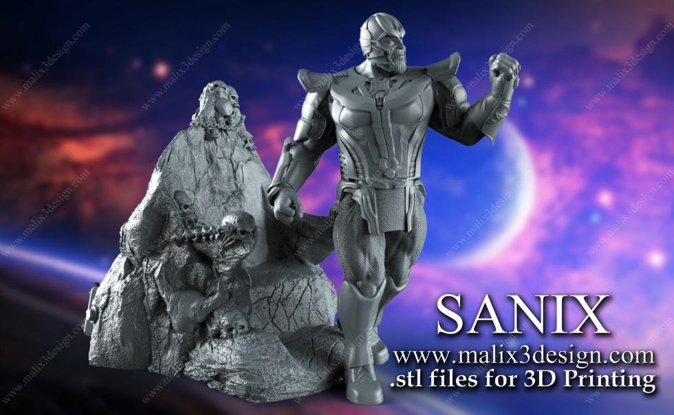 THANOS - 3D Printable Model