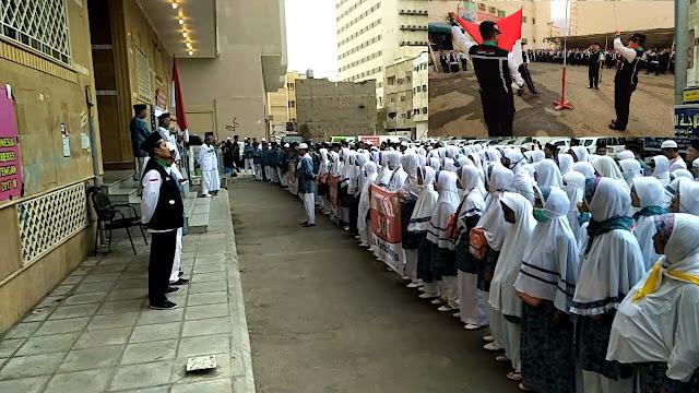 Unik Dan Mengharukan, Para Jamaah Haji Peringati HUT RI Di Tanah Suci