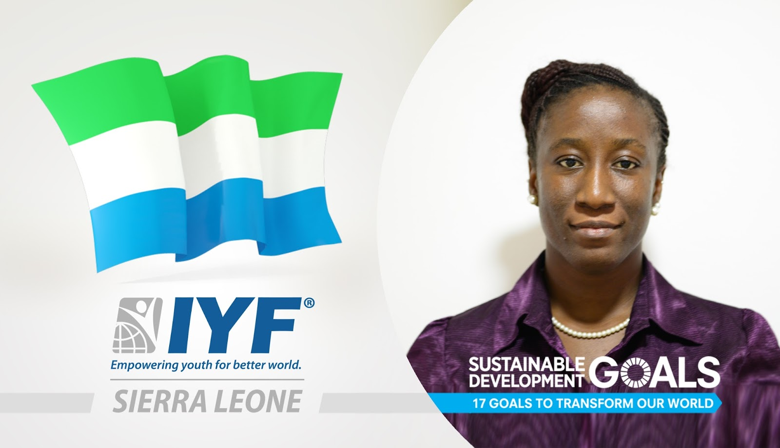 Ellen Wongo, IYF Representative in Sierra Leone