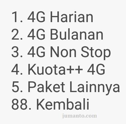 paket tri 4G