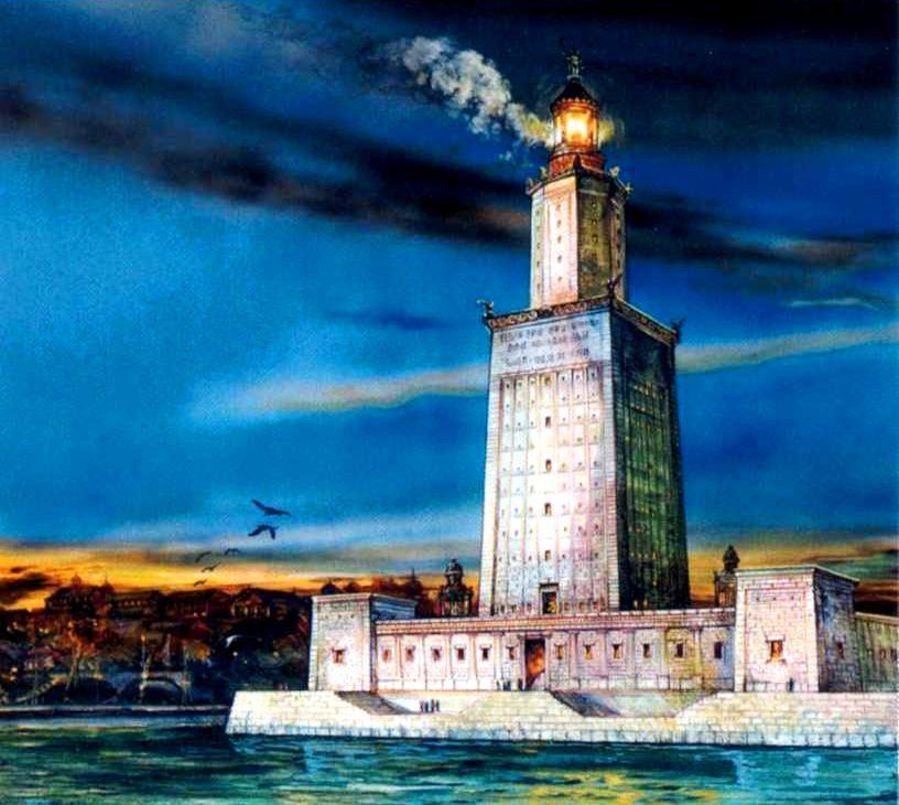 the lighthouseof alexandria