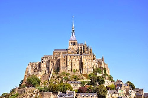Le Mont Saint Michel castle