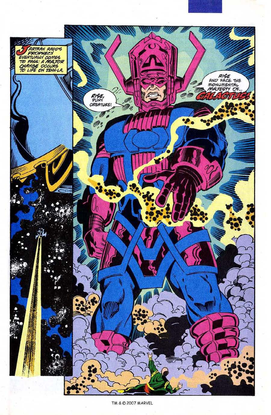 Read online Silver Surfer (1987) comic -  Issue #50 - 37