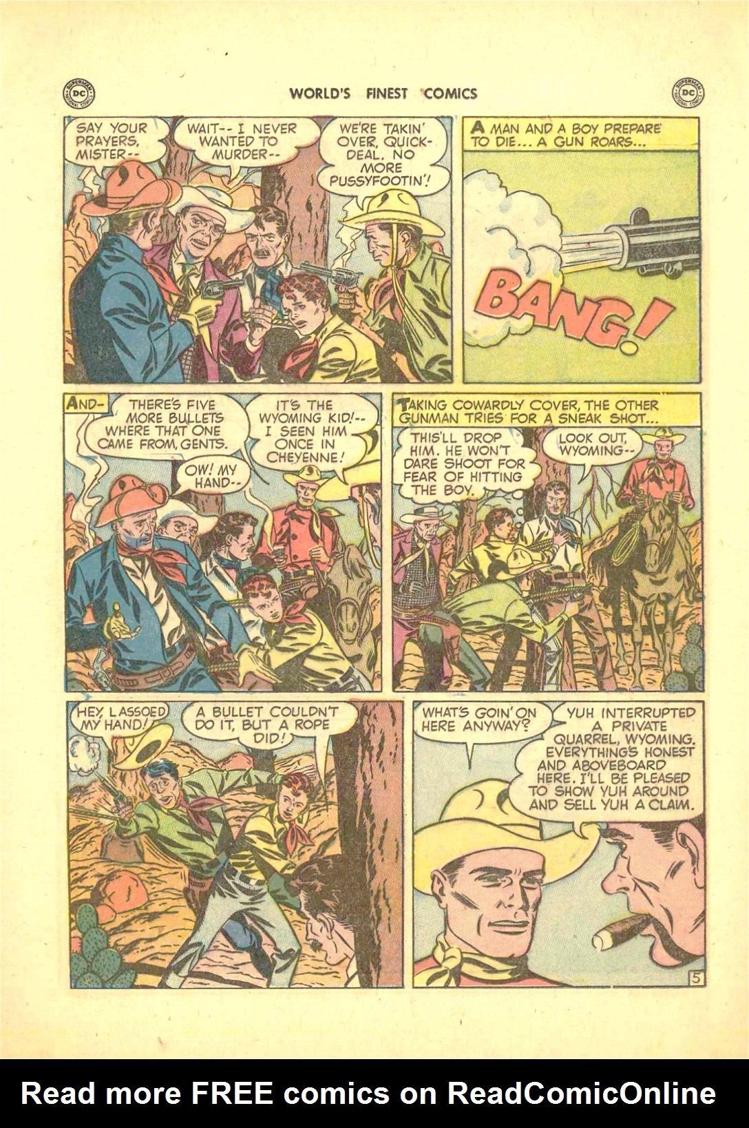 Read online World's Finest Comics comic -  Issue #50 - 43