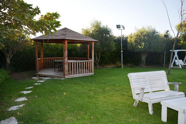 הגינה במסעדת כדיתא Cadita's garden