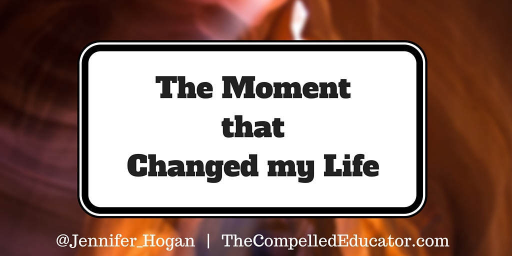 a moment that changed my life Free essay: john trimble 9 january 2003 how fight club changed my life once, i was a young boy who believed everything i heard, yet i knew nothing i was.