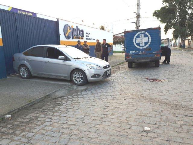 Policial é assassinado ao tentar proteger vítimas de assalto em Feira de Santana - Notícias Policial - Portal SPY