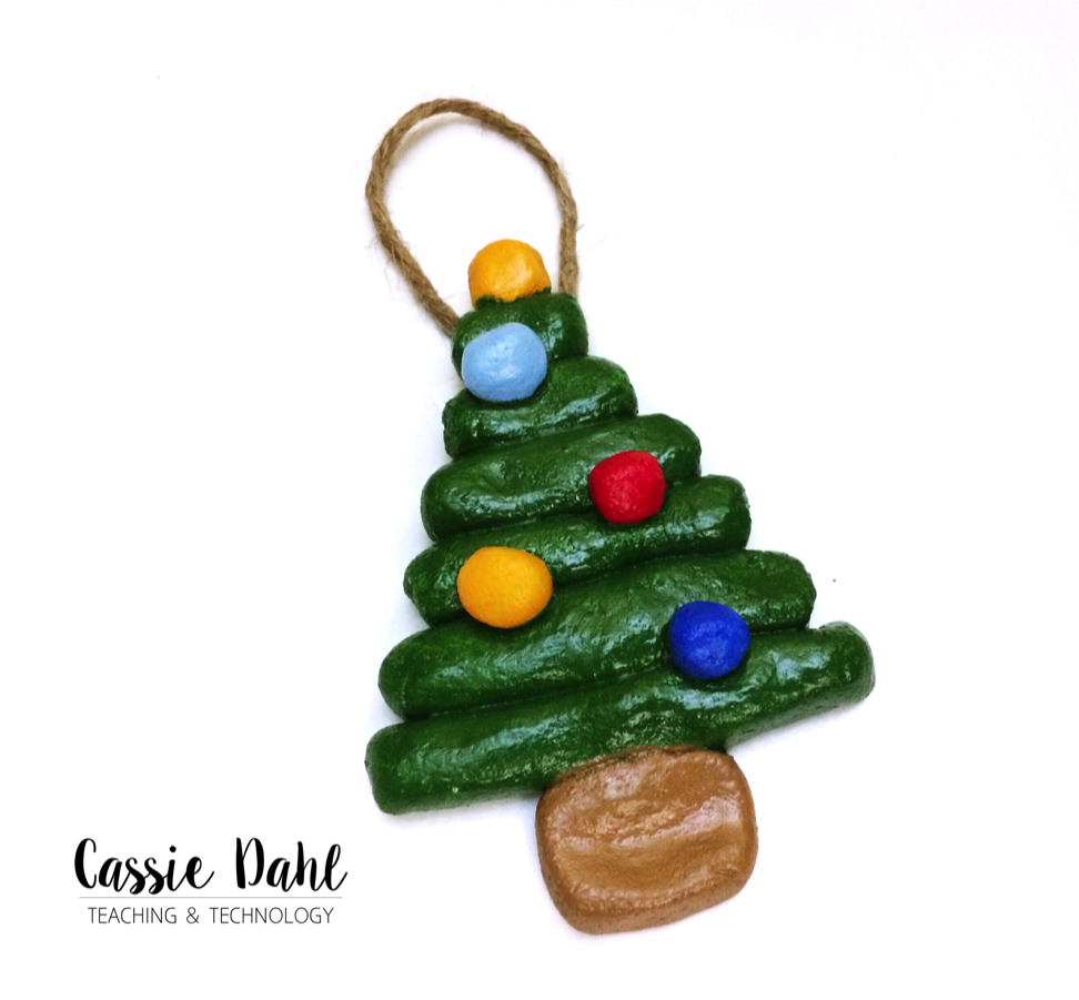These Christmas Tree Ornaments Are Super Easy To Make In The Classroom And  They Turn Out