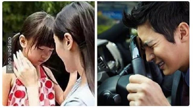 Istrinya Telah Meninggal, Ia Bawa Sang Kekasih ke Rumah dan Bilang 'Mama Pulang Nak', Sungguh Haru !!