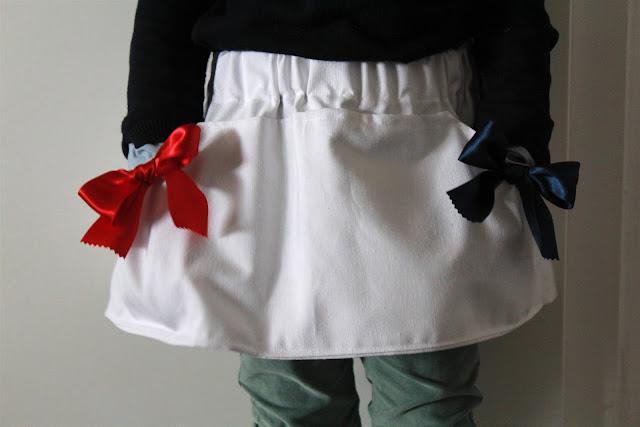 falda de exploradora DIY