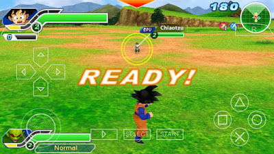 Dragon Ball Z Tenkaichi Tag Team For PPSSPP Android / PC