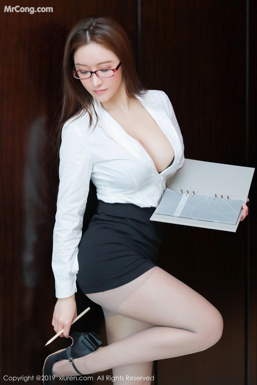 Image XIUREN-No.1457-Jenny-MrCong.com-002 in post XIUREN No.1457: 任莹樱 Jenny (46 ảnh)