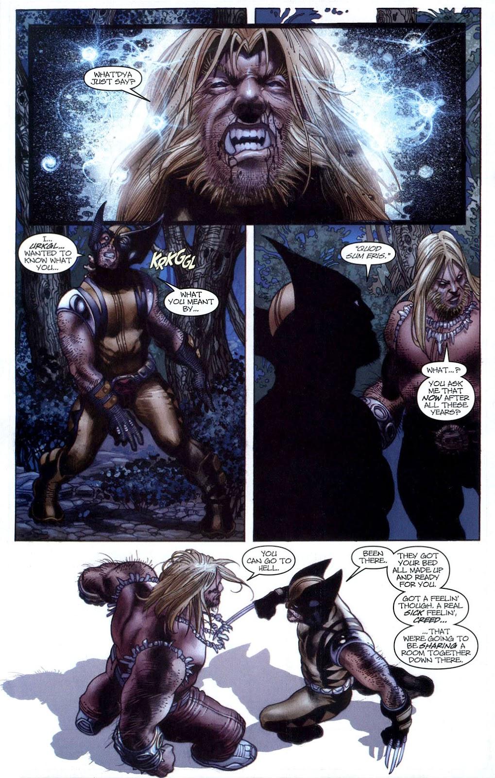 Read online Wolverine (2003) comic -  Issue #50 - 18
