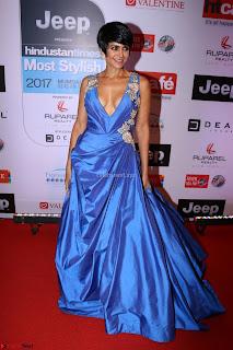 Red Carpet of Most Stylish Awards 2017 ~ Mandira Bedi (3).JPG