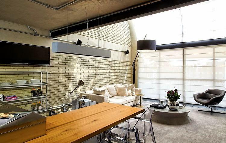 Loft industrial en sao paulo diego revollo for Los mejores disenos de interiores del mundo