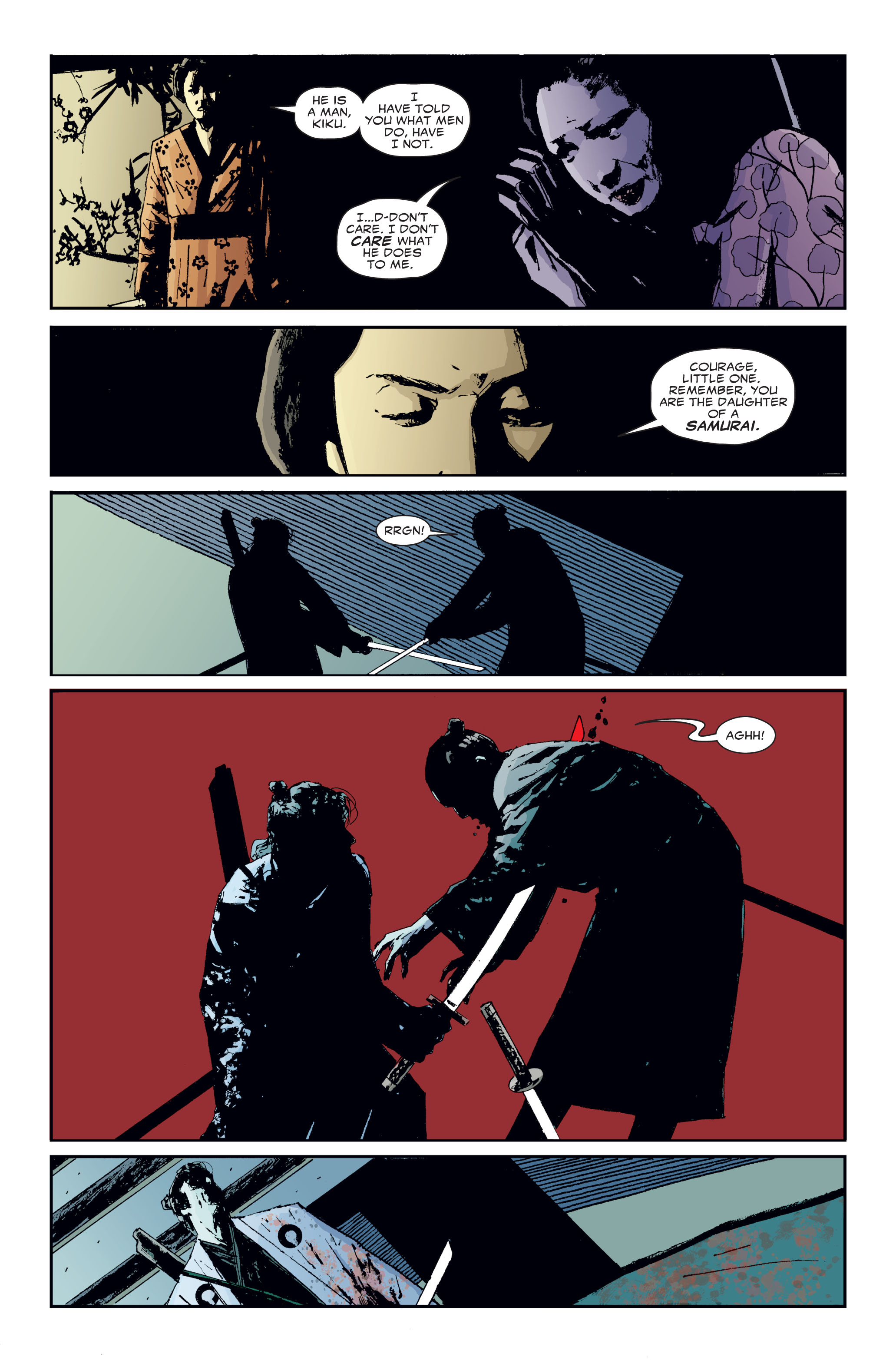 Read online 5 Ronin (2011) comic -  Issue #3 - 18