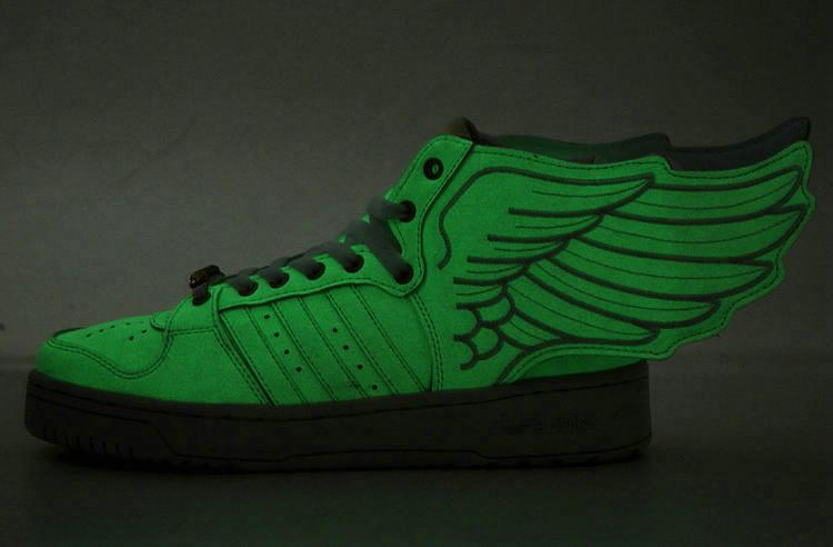 0023e764d7e2 Adidas JS Wings Jeremy Scott Shoes Cheap Sale  Glow in the dark ...