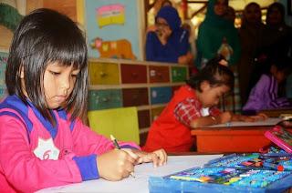 Lomba Kreatifitas Anak PAUD TK Agam