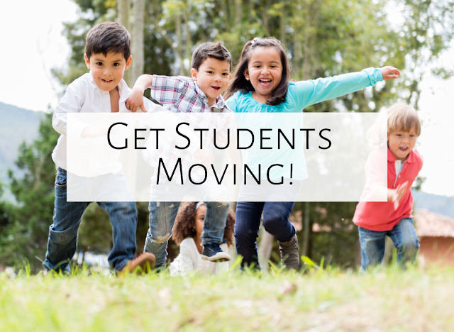 Three ways to get your students moving