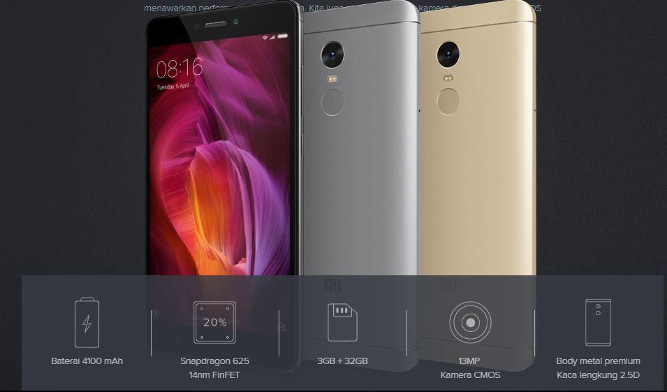 Spesifikasi dan Harga Xiaomi Redmi Note 4 di Indonesia