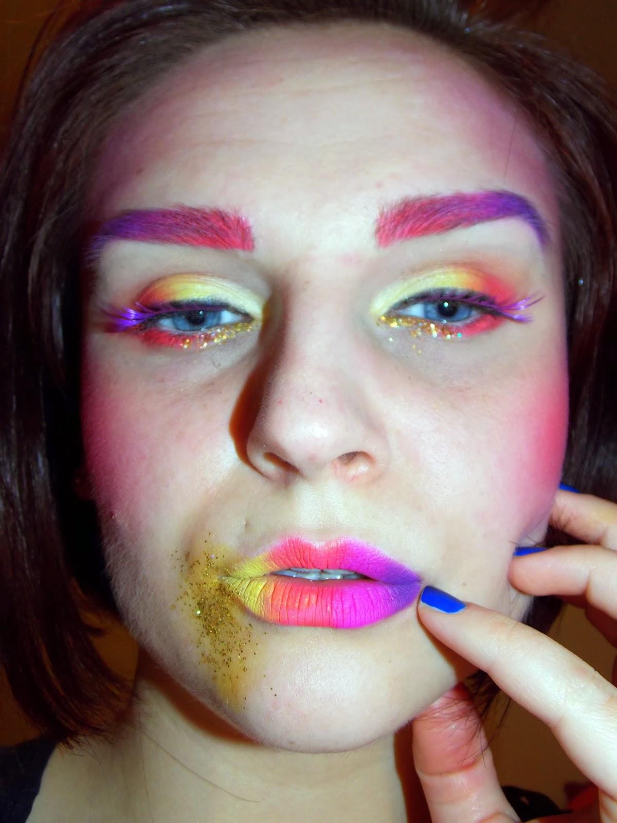 Deja Zu: Makeup Series: 7 Deadly Sins