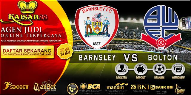 PREDIKSI TEBAK SKOR JITU ENGLISH LEAGUE CHAMPIONSHIP BARNSLEY VS BOLTON 14 APRIL 2018