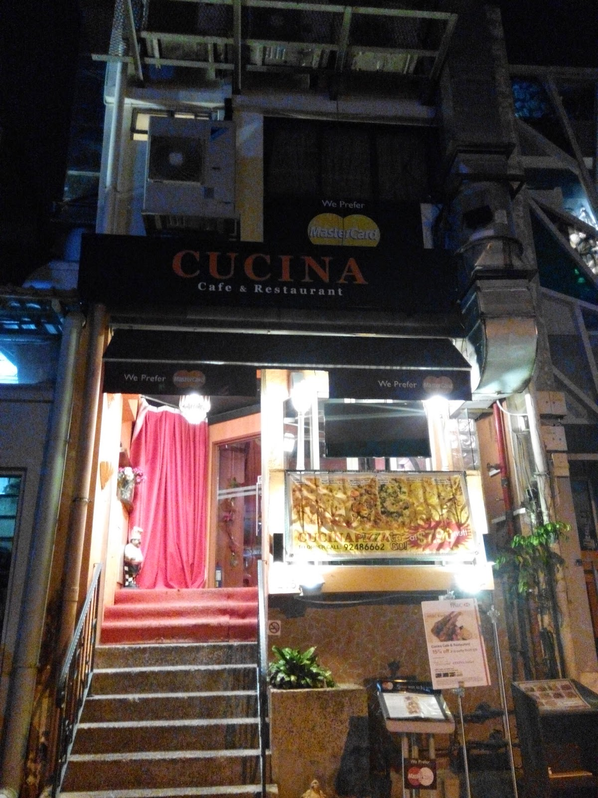 Cucina cafe and restaurant, Holland Village, Singapore