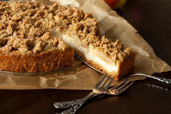 Quark Apfelkuchen Mit Streuseln Christina S Catchy Cakes