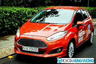 So sánh Toyota Vios với Ford Fiesta 5