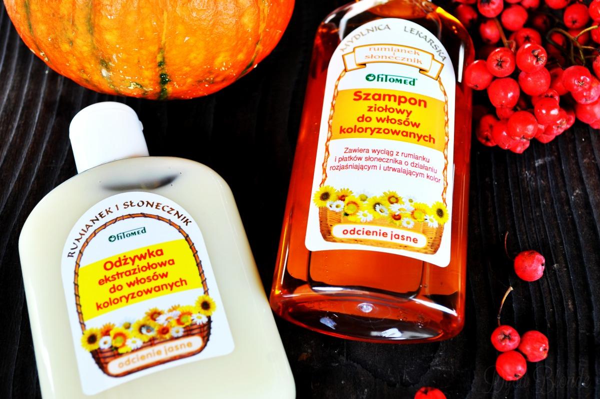 Odżywka ekstraziołowa do włosów koloryzowanych Fitomed