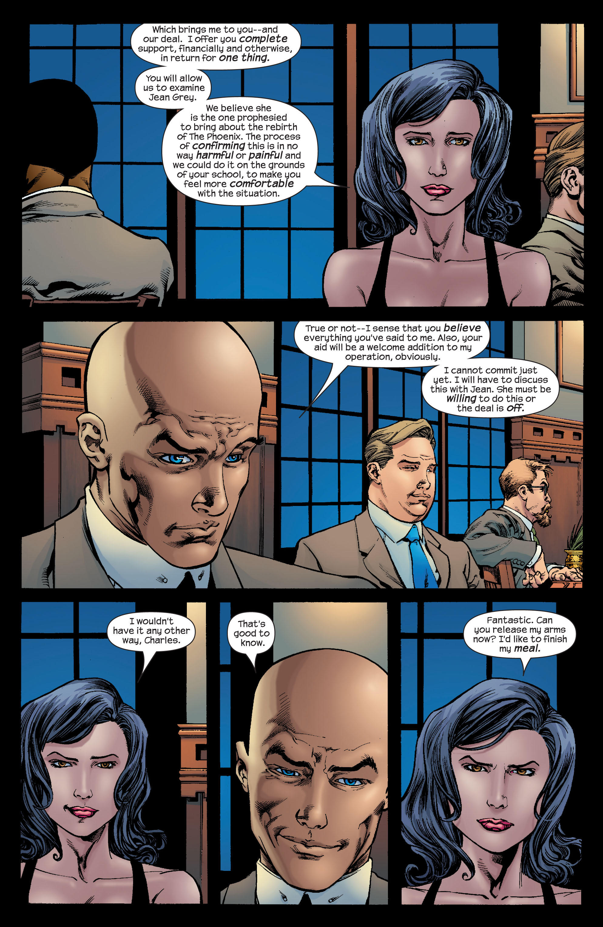Read online Ultimate X-Men comic -  Issue #68 - 16