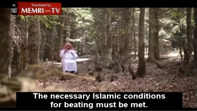 Muslim therapist advises men to 'beat their wives with toothpick and 'forsake them in bed'