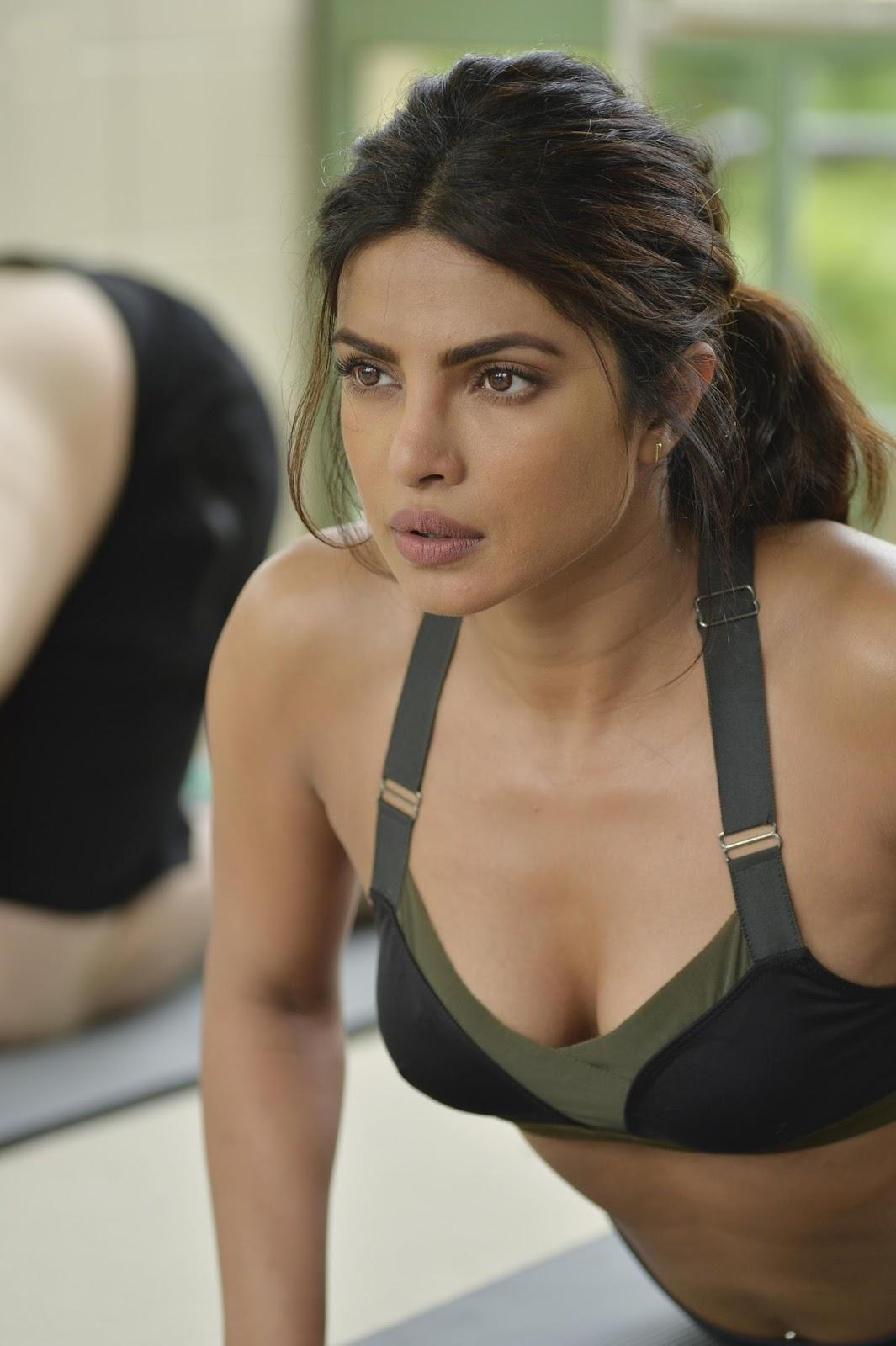 Priyanka Chopra Sexy Cleavage Show In Quantico Season 2 -1796