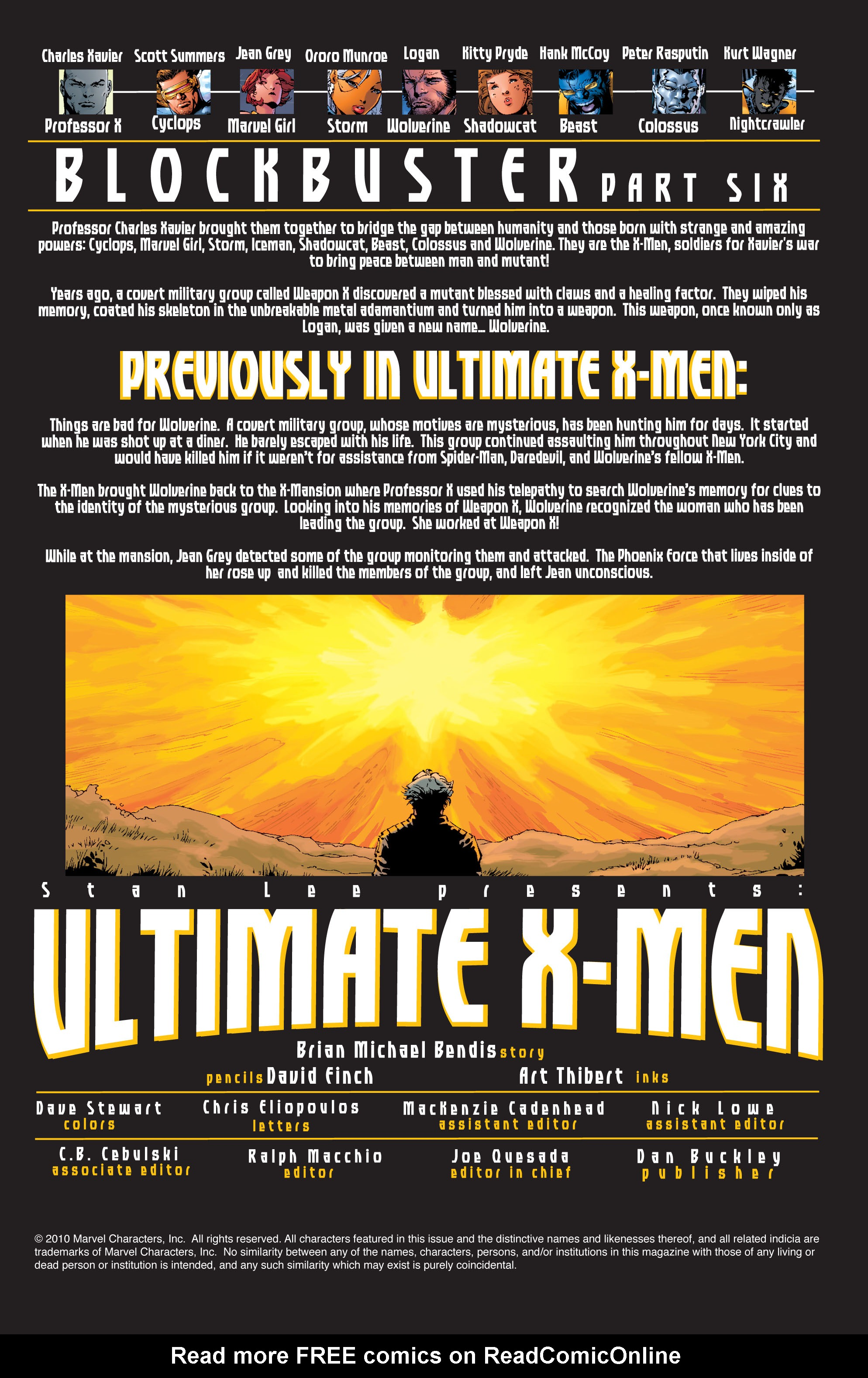 Read online Ultimate X-Men comic -  Issue #39 - 2