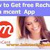 Mcent Android App Se Free Recharge इस एप से फ्री मोबाईल रिचार्ज करें