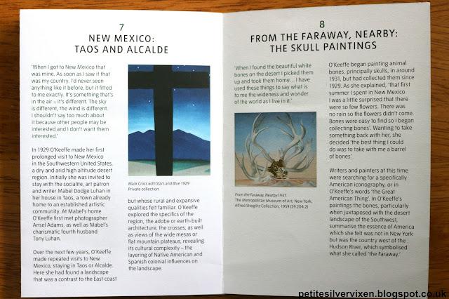 Georgia O'Keeffe Exhibition Guide, Tate Modern | Petite Silver Vixen