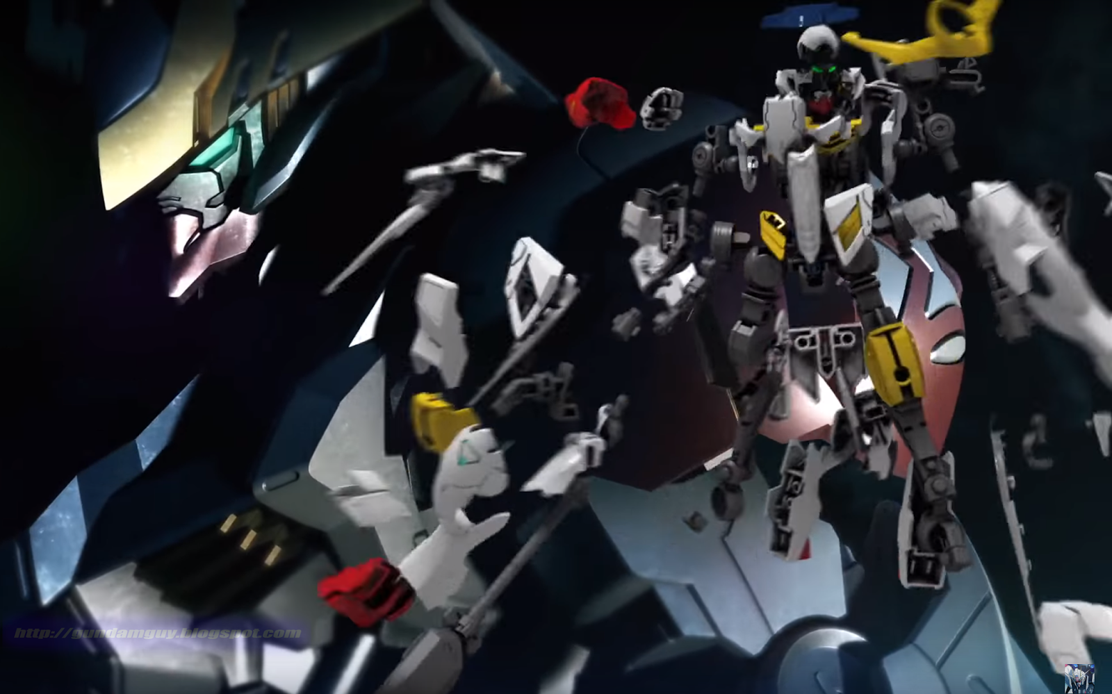 how tall is gundam barbatos