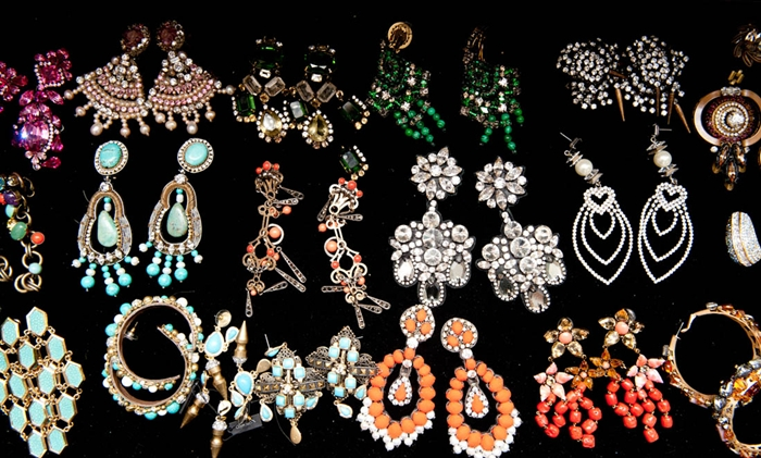 Mary Alice Stephenson closet earrings collection