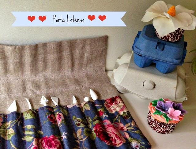 manualidades con telas en horneando entre telas