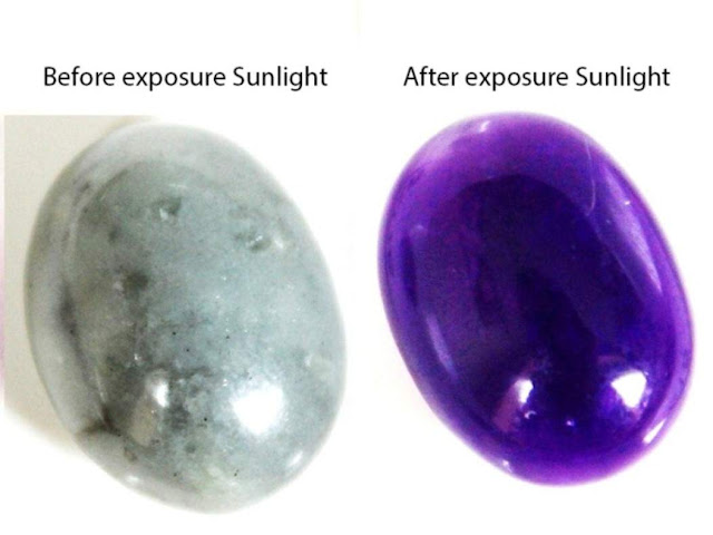 This Gemstone Switches Colours in an Instant