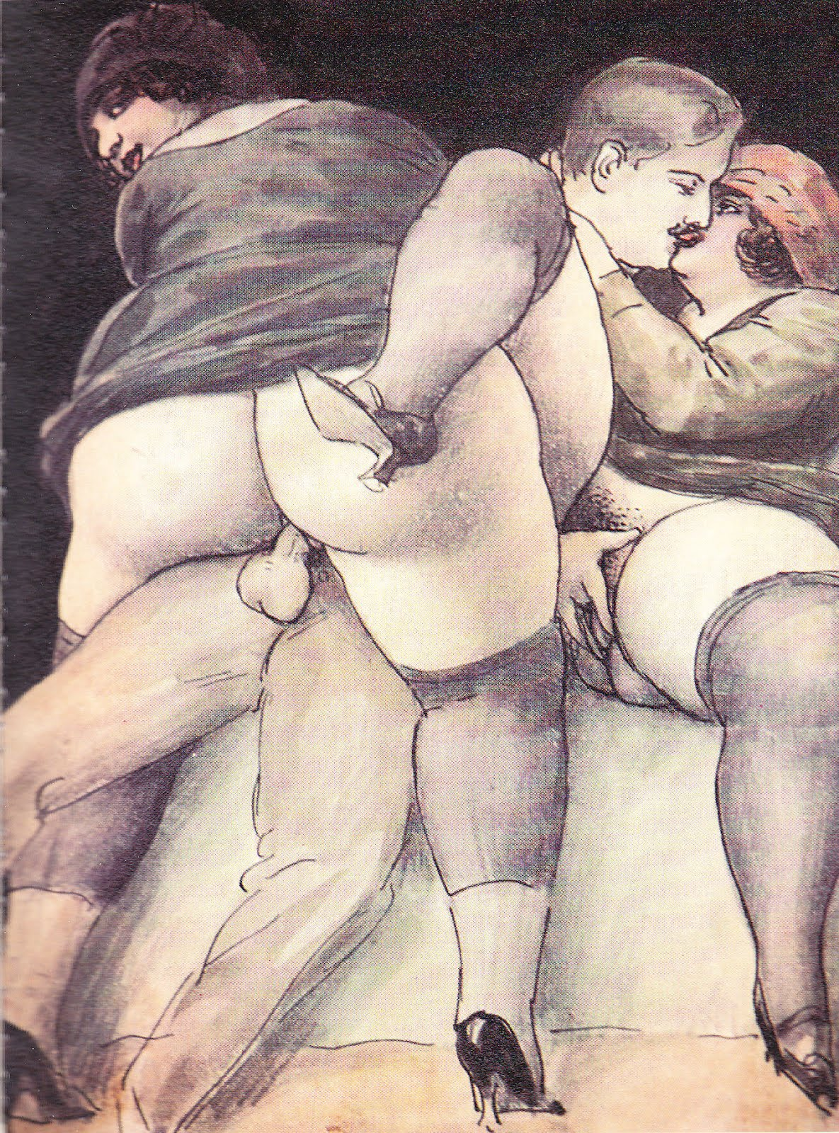 Erotic Drawings Hardcore